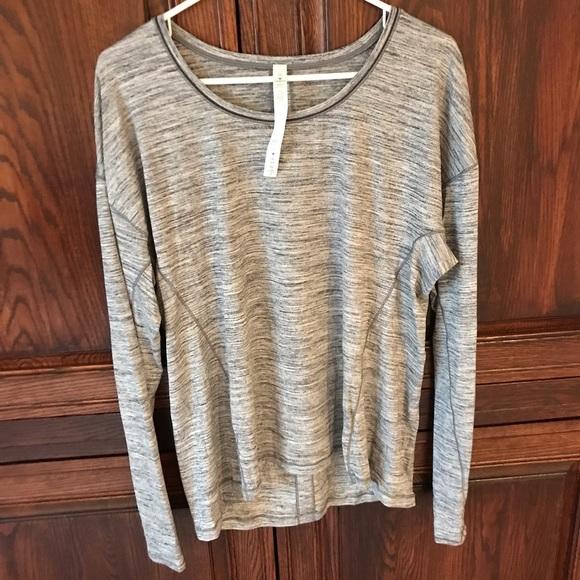 d6c07192f6 lululemon athletica Tops   Lululemon Sweat Embrace Long Sleeve Shirt ...